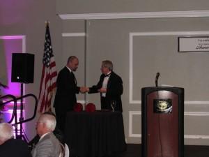 ECMS Award presentation to Dr Reilly